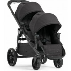 2017 Baby Jogger City Select LUX Double Stroller - Granite