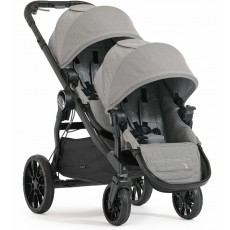 2017 Baby Jogger City Select LUX Double Stroller - Slate