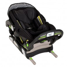 MUV KUSSEN Infant Seat with Base - Mystic Black