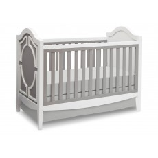 Delta - 3-In-1 Crib Grey/White