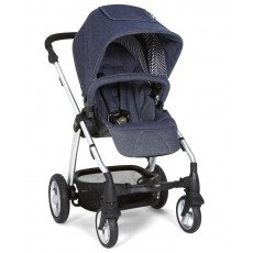 2014 Mamas & Papas Sola 2 MTX Limited Edition Stroller Blue Denim