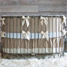Bratt Decor J'adore Crib Cradle in Pewter