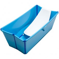 Stokke Flexi Bath with Newborn Support - Blue