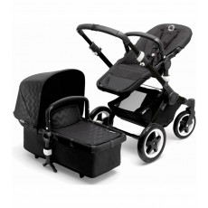 Bugaboo Buffalo Stroller - Black/Shiny Chevron