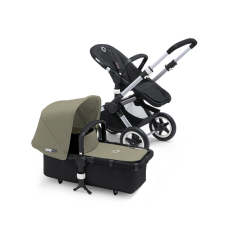Bugaboo Buffalo Tailored Fabric Set Extendable Sun Canopy Dark Khaki