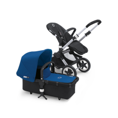 Bugaboo Buffalo Tailored Fabric Set Extendable Sun Canopy Royal Blue