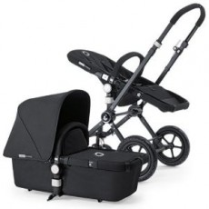 Bugaboo Buffalo Stroller (Base and Tailored Fabric Sets) - Pre-Order - All Black/Black