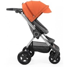 Stokke Scoot Stroller Complete - Orange