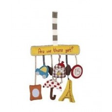 Mamas & Papas - Are We There Yet Charm Toy