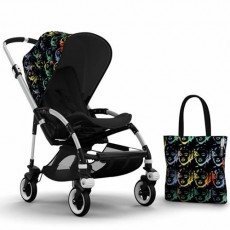 Bugaboo Bee3 Andy Warhol Accessory Pack - Marilyn/Black