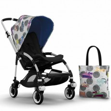 Bugaboo Bee3 Andy Warhol Accessory Pack - Transport/Royal Blue