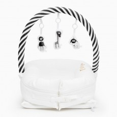 Dockatot Toy Bar - Black/White Stripe