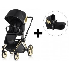 Cybex Priam Stroller and Carry Cot Complete - Wings by Jeremy Scott