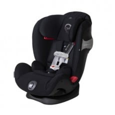 Cybex Eternis S All-in-One Car Seat with SensorSafe - Lavastone Black