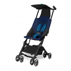 2016 GB Pockit Super Compact Stroller - Sea Port Blue