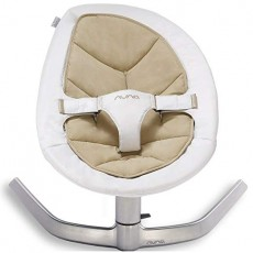 2019 Nuna Leaf Seat Pad and Infant Insert Bisque