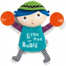 Mamas & Papas - Travel Accessory Babyplay - Little Man On Board Toy