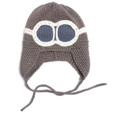 Magnolia Line Aviator Knit Hats 6-12 Months