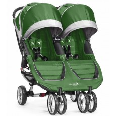 2016 Baby Jogger City Mini Double Stroller - Evergreen