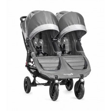 2016 Baby Jogger City Mini GT Double Stroller - Steel Gray