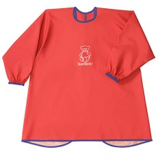 Baby Bjorn Eat and Play Smock Red