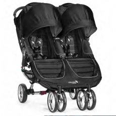 Baby Jogger City Mini Double Black Pre-Order