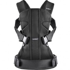 Baby Bjorn Baby Carrier One Black, Mesh