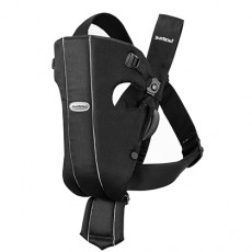 Baby Bjorn Baby Carrier Original Black Cotton
