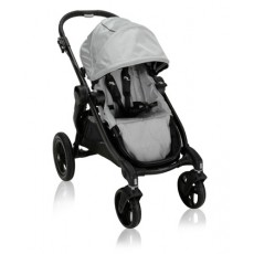 Baby Jogger City Select Unique Customize Stroller Silver
