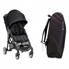 Baby Jogger City Mini Zip Stroller with FREE Travel bag - Black