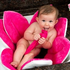 Blooming Bath Baby Sink Bath - Hot Pink