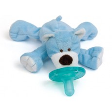 WubbaNub Baby Blue Bear Infant Pacifier