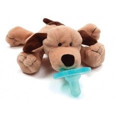 WubbaNub Baby Brown Puppy Infant Pacifier