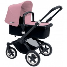 Bugaboo Buffalo Tailored Fabric Set Extendable Sun Canopy Pink