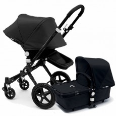 Bugaboo Cameleon 3 Base Stroller with Sun Canopy - All Black