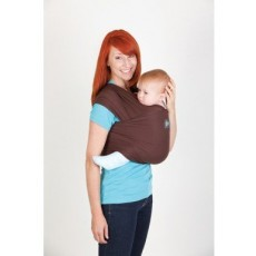Boba Wrap Style Baby Carrier Brown