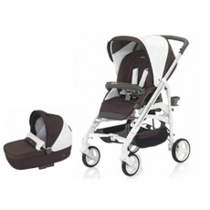 Inglesina Trilogy Stroller with Bassinet - Caffe
