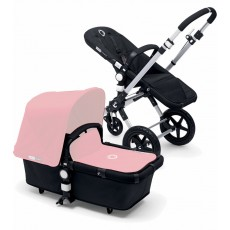 Bugaboo Buffalo Stroller (Base and Tailored Fabric Sets) - Black/Soft Pink
