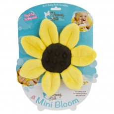 Blooming Bath Mini Bloom Scrubbie Canary Yellow