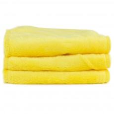 Blooming Bath Petals Baby Bath Washcloths Canary Yellow
