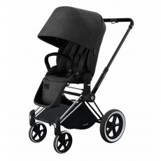 Cybex Priam Lux All-Terrain Stroller - Black Beauty