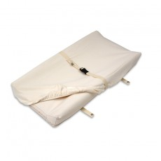 "Naturepedic Organic Cotton Changing Pad Cover (16.5"" x 33"") - Fits 2 Sided"