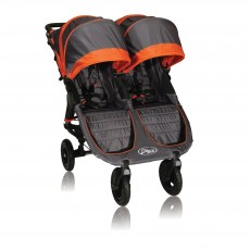 Baby Jogger City Mini GT Lightweight Fold Double Stroller Shadow/Orange
