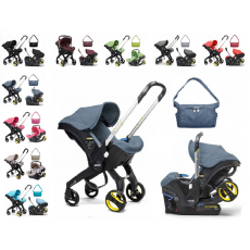 Doona Infant Car Seat with Base and Free Doona Essentials Bag
