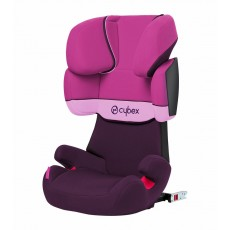 Cybex X Fix Premium Booster Car Seat - Purple Rain