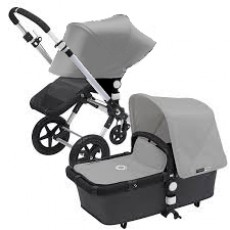 Bugaboo Cameleon 3 Base Stroller with Sun Canopy - Dark Grey