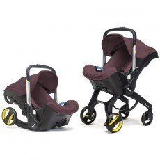 Doona Infant Car Seat with Base Cherry