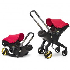 Doona Infant Car Seat with Base Flame Red