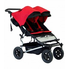 2016 Mountain Buggy Duet Double Stroller - Chilli Red