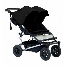 2016 Mountain Buggy Duet Double Stroller - Black